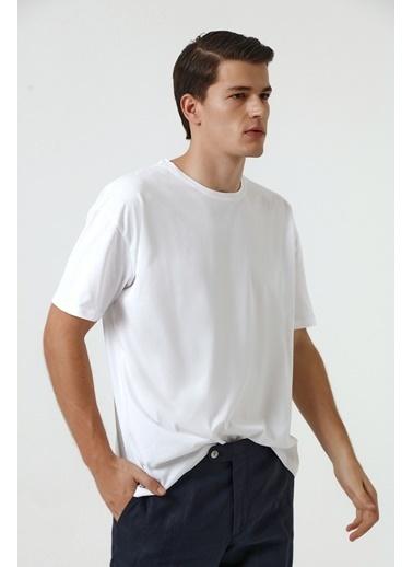D'S Damat Oversize T-Shirt Beyaz